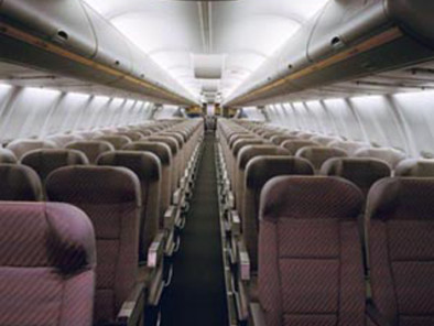 Image b757-interior of Boeing 757 available for rent of flights with a Business Aircraft