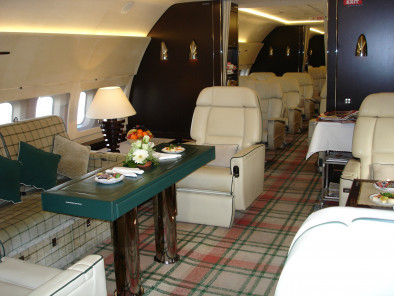 Image bbj-inside of Boeing Business Jet BBJ available for rent of flights with a Private Jet