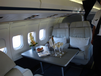 Image md83-vip-seat of Boeing MD 83 VIP available for rent of flights with a Business Jet