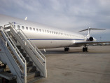 Image md83-vip-outside of Boeing MD 83 VIP available for rent of flights with a Business Jet