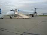 Image md83-outside of Boeing MD 83 available for rent of flights with a Business Jet