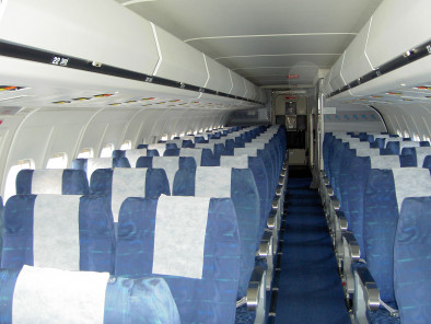 Image md83-inside of Boeing MD 83 available for rent of flights with a Private Aircraft