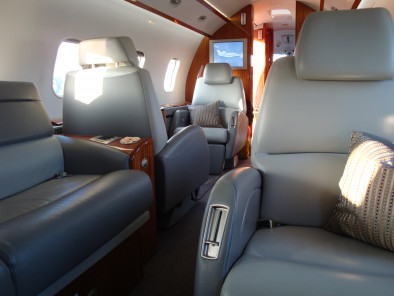 Image bombardier-challenger-300-seats of Bombardier Challenger 300 available for rent of flights with a Business Jet