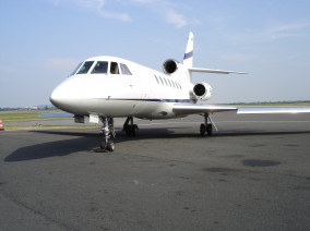Image dassault-falcon-50-outside of Dassault Falcon 50 available for rent of flights with a Business Jet