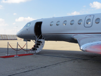 Image dassault-falcon-50-welcome-on-board of Dassault Falcon 50 available for rent of flights with a Business Aircraft