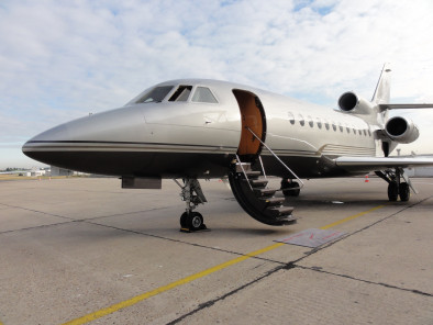Image dassault-falcon-900-outside-02 of Dassault Falcon 900 EX available for rent of flights with a Private Jet