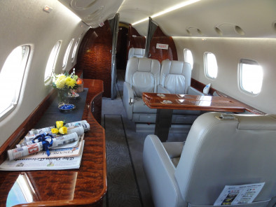 Image embraer-legacy-inside of Embraer Legacy available for rent of flights with a Private Jet