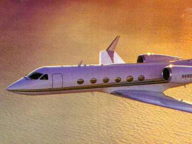 Gulfstream IV, Private Aircraft, used by Private Jet Charter service from AB Corporate Aviation, showing gulfstream-4-flying.
