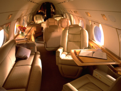 Gulfstream IV, Private Aircraft, used by Private Jet Charter service from AB Corporate Aviation, showing gulfstream-4-interior.