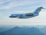Image hawker-4000-flying of Hawker 4000 available for rent of flights with a Private Jet