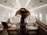 Image hawker-4000-inside-seats of Hawker 4000 available for rent of flights with a Private Jet