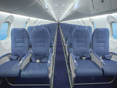Image crj-1000-cabin-seats of Bombardier CRJ 1000 available for rent of flights with a Airliner