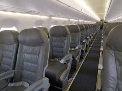 Image embraer-190-inside of Embraer 190 available for rent of flights with a Airliner