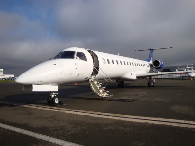 Image embraer-erj-145-welcome-on-board of Embraer Erj 145 Jet available for rent of flights with a Private Jet