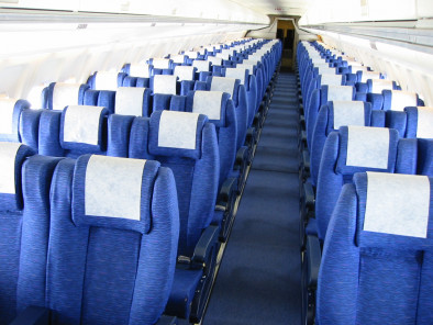 Image fokker-100-inside of Fokker 100 available for rent of flights with a Airliner